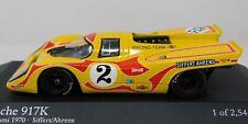 1/43 Minichamps 1970 Porsche 917K 6 hr Kyalami #2 Siffert Ahrens 430706792 L/E