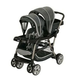 Graco Ready2Grow LX Stroller | 12 Riding Options | Accepts 2 Graco SnugRide Infa