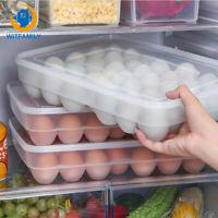 New 34 Grid Eggs Refrigerator Eggs Storage Box Food Storage Container Case