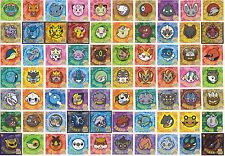 Pokemon Battle Trozei PART 2 - Seal Sticker Card FULL SET of 70 [NM] - Ensky Pan