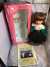 Engel Puppen Doll Engel Puppe Doll Disney World Epcot NEW Germany COA SIGNED