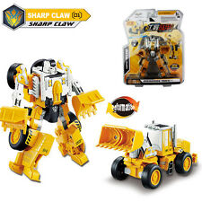 2-1 Deformation Robots Construction Shovel Tractor Truck Metal Diecast Model Toy
