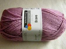 """Wolle-schachenmayr Original """"bravo"""" 50g filato - in 60 Parte dei colori 2 Fb.08343-lavanda"""