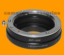 Sony A Minolta AF MA Lente Alpha Samsung NX Adaptador de montaje NX-500 NX-1 NX-3000