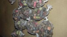 120 mini pre filled pre tied pva mesh balls + 20  pva bags