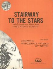 Stairway To The Stairs Sheet Music Lowrey #45 Organ 2nd Ed 1971 Malneck Parish