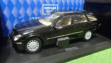 MERCEDES BENZ E-CLASS WAGON T-MODEL Noir 1/18 KYOSHO 09004BK2 voiture miniature