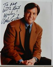 AUTOGRAPHED SIGNED COLOR PHOTO>AMERICAN SPORTSCASTER> BOB COSTAS