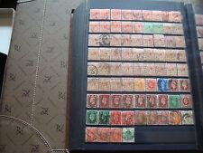 ROYAUME-UNI - 76 timbres obliteres (tout etat) stamp united kingdom