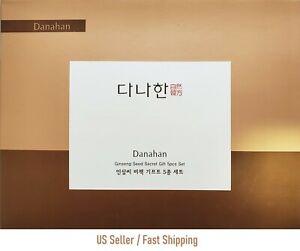 [Somang] Danahan Ginseng Seed Secret Gift 5pcs Travel Set (Carry-On Friendly)