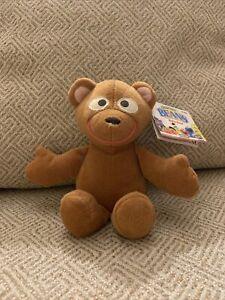"1997 Sesame Street Jim Henson's Muppet Baby Bear Tyco 8"" Bean Bag Plush BD 5/12"