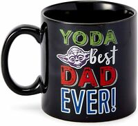 Yoda Best Dad Ever Funny Father's Day Gift For Daddy Coffee Mug Funny Gift Cup