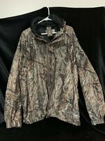 Mossy Oak Duck Blind Hunting Jacket Coat Mens 2xxl(zz)