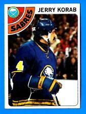 1978-79 Topps JERRY KORAB (ex) Buffalo Sabres