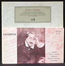 Chabrier Fourestier Pathé DT 25121 LP EX, CV NM