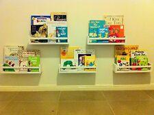 4 x forward facing KIDS BOOKSHELVES childrens BOOK DISPLAY / bookshelf / shelf