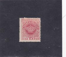 ST. THOMAS E PRINCIPE CROWN 25 REIS VARIETY PERF. 13,5 (1870-77)