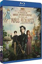 EL HOGAR DE MISS PEREGRINE PARA NIÑOS PECULIARES BLU RAY NUEVO ( SIN ABRIR )