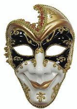 Noir D'or masque Blanc Vénitien Mascarade fou balle robe fantaisie