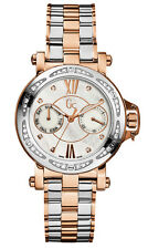GUESS GC Collection Damen Uhr Edelstahl mit 36 diamanten X74107L1S Gc09