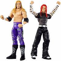 WWE WRESTLING WRESTLEMANIA BATTLE PACK SERIES EDGE VS JEFF HARDY FIGURES NEW