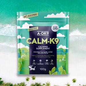 A-OK9 Calm-K9 100g pouch