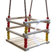 FATMOOSE RetroCruiser Babyschaukel Gitterschaukel Kinderschaukel Holz Schaukel