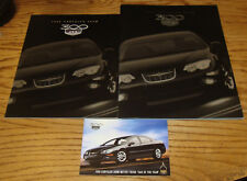 Original 1999 Chrysler 300M Sales Brochure Postcard Lot of 3 99