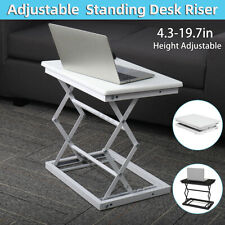 Modern Portable Folding Height Adjustable Laptop Standing Desk Riser