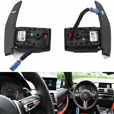 1 Pair Steering Wheel Gear Shift Paddle Set For BMW 1 2 3 4 Series X6 X5 X4 X3