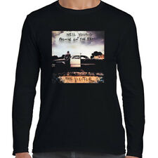 Neil Young + Promise Of The Real Long Sleeve Black T-Shirt Size S to 3XL