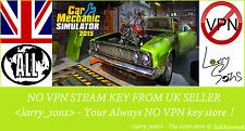 Car Mechanic Simulator 2015 Steam key NO VPN Region Free UK Seller