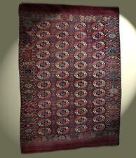 Antik Buchara Teppich Turkmenistan 19. Jh Hauptteppich 290x204 Tekke main carpet