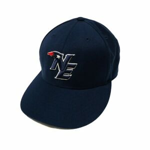 New England Patriots NFL Team Apparel Reebok Fitted Hat Cap 7 1/2 NWOT