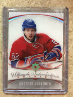 16-17 UD Upper Deck Ultimate RC Rookies Introductions #72 ARTTURI LEHKONEN