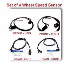 Set 4 ABS Wheel Speed Sensor Front Rear Left & Right Fits: Montero 2001-2006