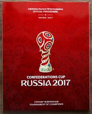 FIFA Official Programme Confederations Cup Russia 2017 Tournament of Champions