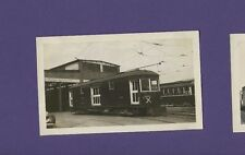 Hershey Transit Co. Freight & Express Rail Car #24 - Vintage Railroad Photo