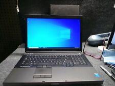 Dell Precision M6800 Laptop Core i7-4940MX 3.10GHz 32GB RAM 512SSD 1TB