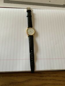 Classic Ladies Chopard Watch 645635 983 18k Gold Fab Condition 27m Face Save ££