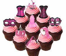 Ann Summers Party, Edible Cupcake Toppers, 36 Standup Fairy Cake Decorations