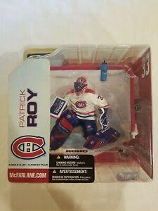 "Patrick Roy Montreal Canadiens McFarlane NHL Series 5 2003 NIB 6"" RARE"