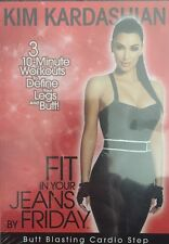 Kim Kardashian Workout - Fit Into Your Jeans By Friday Butt Blasting Cardio DVD