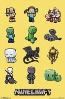 JINX MINECRAFT VIDEO GAME CHARACTERS POSTER NEW FREE SHIPPING