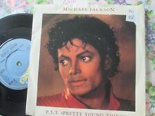 "Michael Jackson – P.Y.T. (Pretty Young Thing) Epic A4136 UK 7"" Vinyl Single"