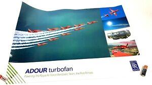 Rolls Royce Engine Poster Print Adour Turbo Fan
