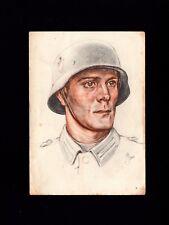 Germany WWII Army Day Solder Wilhelm Sauter Feldpost Muhlheim 1940 Postcard 4l
