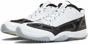 Nike Air Jordan 11 Retro Low IE SZ 11.5 White Metallic Silver Black 306008-100