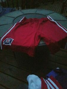 adidas MLS Mens Chicago Fire  Soccer Shorts size M