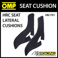 HB/701 OMP RACING LATERAL PAIR OF SEAT SUPPORT CUSHIONS FOR OMP RACE SEATS